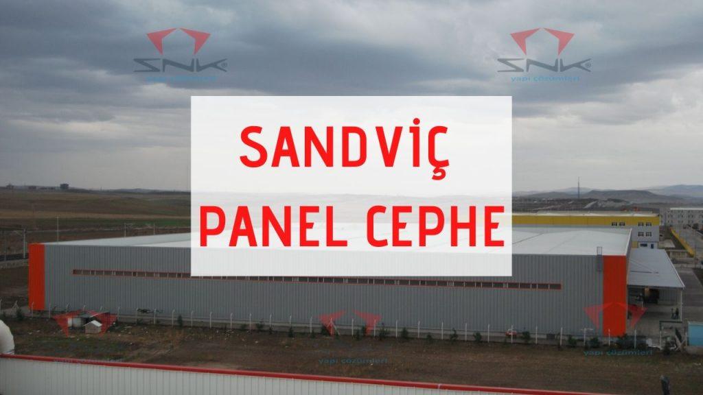Sandviç Panel Cephe